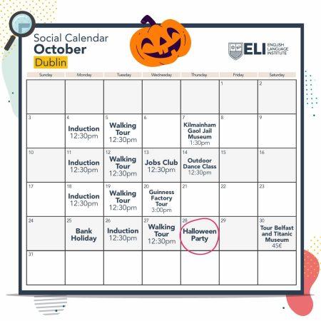 Social Calendar Dublin